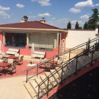 Хотел Alchemist Residence в Белащица. Покривна система и хармоника на външно джакузи